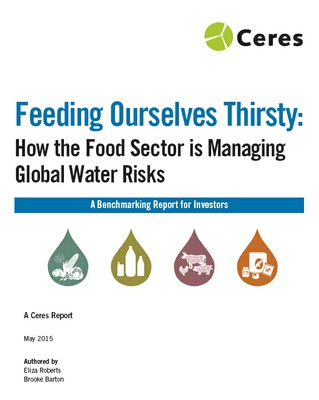 Feeding Ourselves Thirsty: Report Cover
